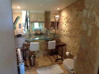 suite garance, le prieure de mouquet Créon-Sadirac, salle de bain, fr