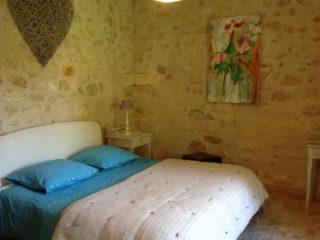 suite garance, le prieure de mouquet Créon-Sadirac, chambre 1 lit double, fr