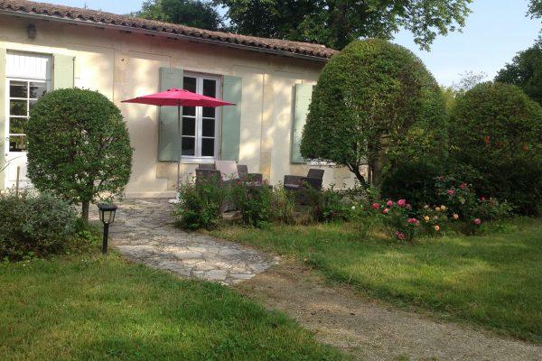 gite les hortensias, le prieure de mouquet Créon-Sadirac, exterieur4, fr