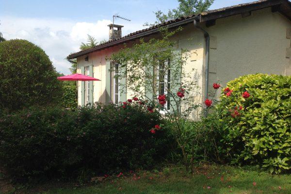 gite les hortensias, le prieure de mouquet Créon-Sadirac, exterieur2, fr