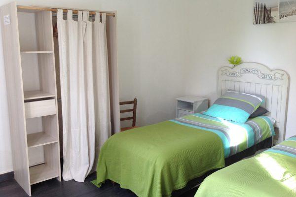 chambre 1 gite PRIEURE DE MOUQUET